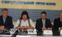 В Ужгородському прес-клубі озвучили прогнозовані ставки податку на 2012 рік для підприємців міста