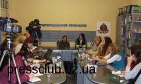 Надія Панчук презентувала в Ужгородському прес-клубі свою книгу «Двоє у багряному саду»