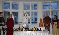 В Ужгородському прес-клубі презентували улюблений торт Людовика XIV